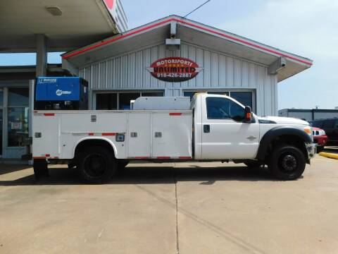 2012 Ford F-550 Super Duty for sale at Motorsports Unlimited in McAlester OK