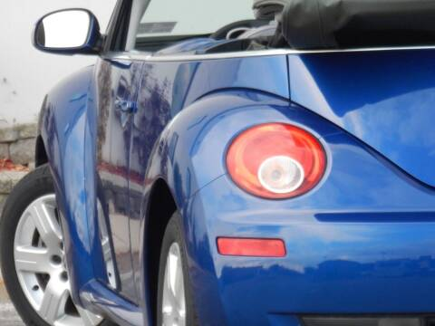 2007 Volkswagen New Beetle Convertible for sale at Moto Zone Inc in Melrose Park IL