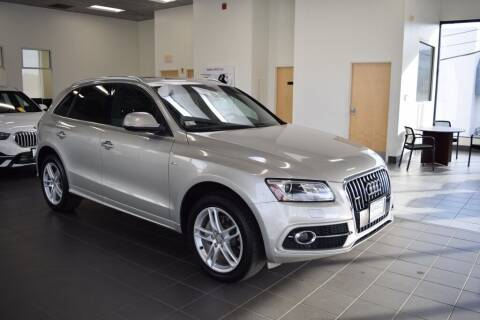 2015 Audi Q5 for sale at BMW OF NEWPORT in Middletown RI