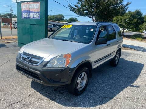 2002 Honda CR-V for sale at Import Auto Mall in Greenville SC