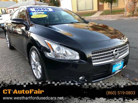 2011 Nissan Maxima for sale at CT AutoFair in West Hartford CT