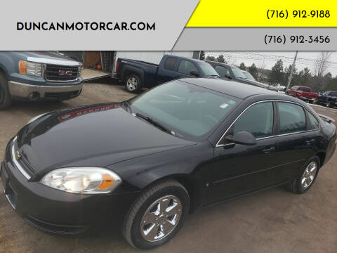 2008 Chevrolet Impala for sale at DuncanMotorcar.com in Buffalo NY