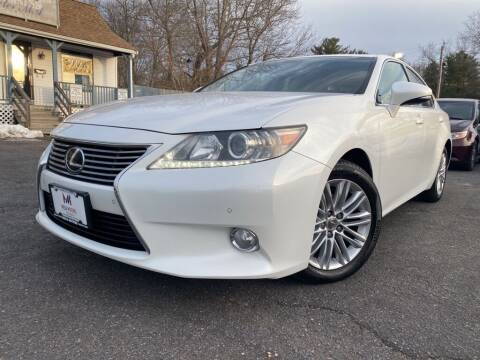 2013 Lexus ES 350 for sale at Mega Motors in West Bridgewater MA