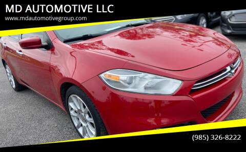 2014 Dodge Dart for sale at MD AUTOMOTIVE LLC in Slidell LA