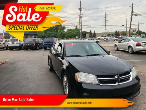 2012 Dodge Avenger for sale at Drive Max Auto Sales in Warren MI