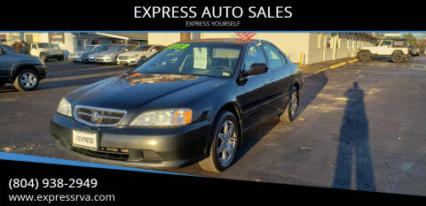 1999 Acura TL for sale at EXPRESS AUTO SALES in Midlothian VA