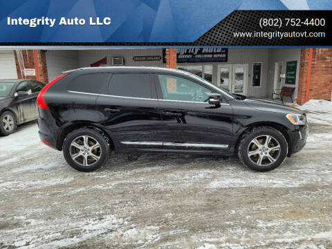 2014 Volvo XC60 for sale at Integrity Auto LLC - Integrity Auto 2.0 in St. Albans VT