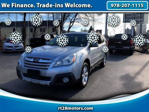 2014 Subaru Outback for sale at RT28 Motors in North Reading MA