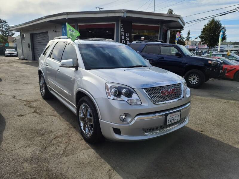 2012 GMC Acadia for sale at Imports Auto Sales & Service in San Leandro CA