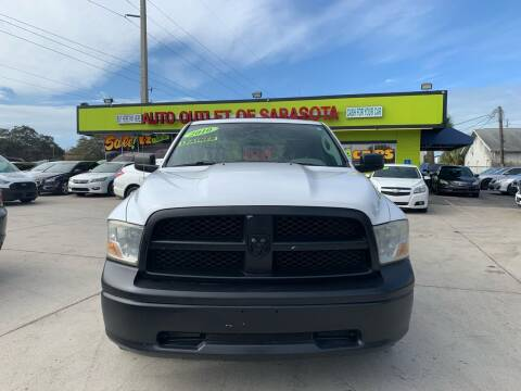 2010 Dodge Ram Pickup 1500 for sale at Auto Outlet of Sarasota in Sarasota FL