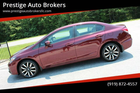 2015 Honda Civic for sale at Prestige Auto Brokers in Raleigh NC