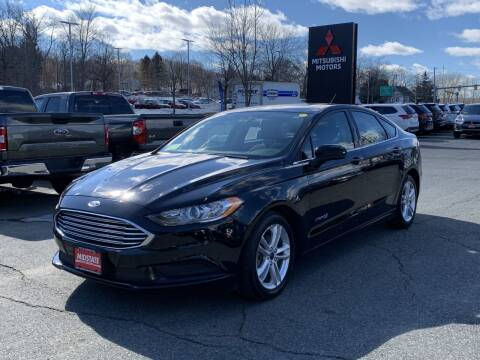 2018 Ford Fusion Hybrid for sale at Midstate Auto Group in Auburn MA
