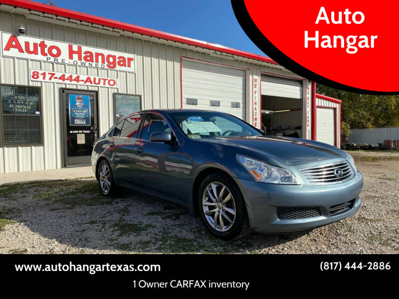 2007 Infiniti G35 for sale at Auto Hangar in Azle TX