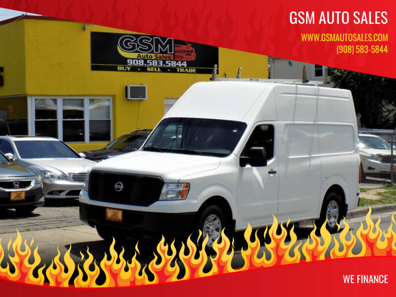 2014 Nissan NV Cargo for sale at GSM Auto Sales in Linden NJ