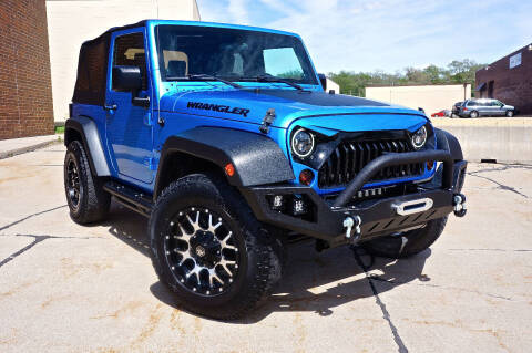2010 Jeep Wrangler for sale at Effect Auto Center in Omaha NE