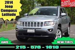 2014 Jeep Compass for sale at Ilan's Auto Sales in Glenside PA