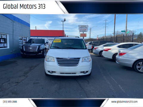 2010 Chrysler Town and Country for sale at Global Motors 313 in Detroit MI