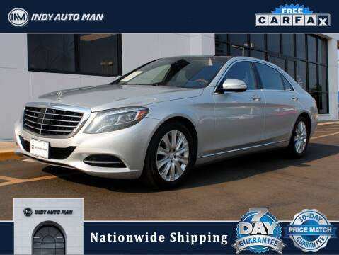 2014 Mercedes-Benz S-Class for sale at INDY AUTO MAN in Indianapolis IN