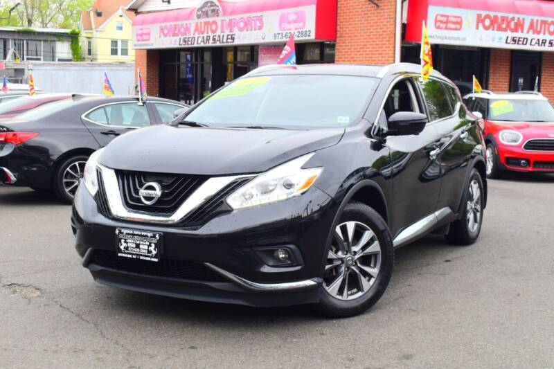 2017 Nissan Murano for sale at Foreign Auto Imports in Irvington NJ