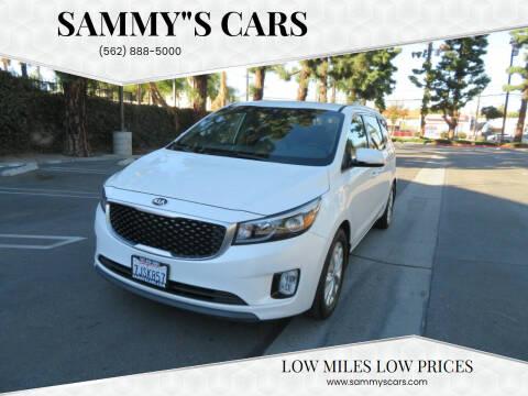 """2015 Kia Sedona for sale at SAMMY""""S CARS in Bellflower CA"""