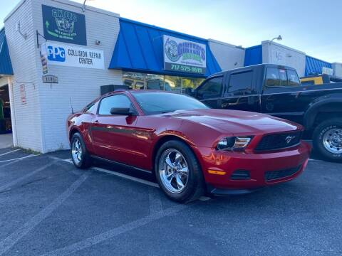 2012 Ford Mustang for sale at Ginters Auto Sales in Camp Hill PA