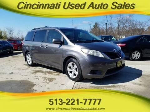 2011 Toyota Sienna for sale at Cincinnati Used Auto Sales in Cincinnati OH