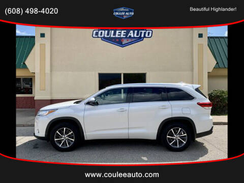 2017 Toyota Highlander for sale at Coulee Auto in La Crosse WI