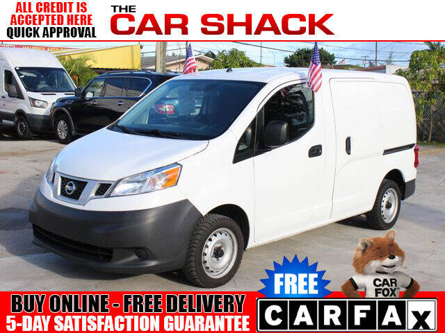 2018 Nissan NV200 for sale at The Car Shack in Hialeah FL