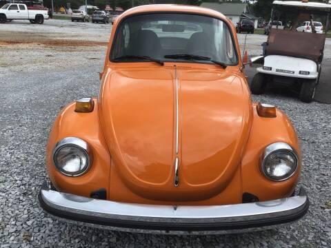 1974 Volkswagen Super Beetle for sale at K & E Auto Sales in Ardmore AL