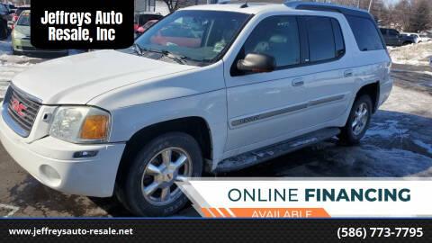 2004 GMC Envoy XUV for sale at Jeffreys Auto Resale, Inc in Clinton Township MI
