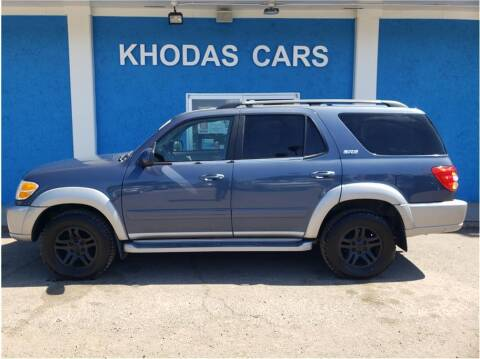 2003 Toyota Sequoia for sale at Khodas Cars in Gilroy CA