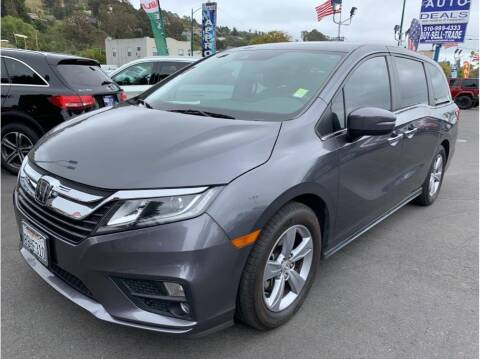 2018 Honda Odyssey for sale at AutoDeals in Hayward CA