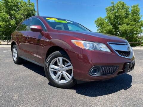 2015 Acura RDX for sale at UNITED Automotive in Denver CO