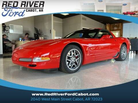 2003 Chevrolet Corvette for sale at RED RIVER DODGE - Red River of Cabot in Cabot, AR