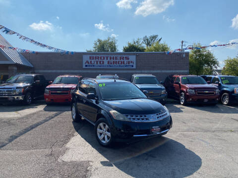 2007 Nissan Murano for sale at Brothers Auto Group in Youngstown OH