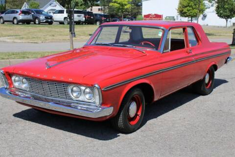 1963 Plymouth Belvedere for sale at Great Lakes Classic Cars & Detail Shop in Hilton NY