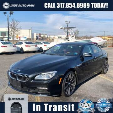 2018 BMW 6 Series for sale at INDY AUTO MAN in Indianapolis IN