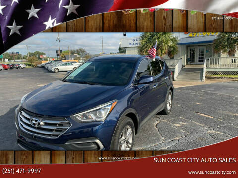2018 Hyundai Santa Fe Sport for sale at Sun Coast City Auto Sales in Mobile AL
