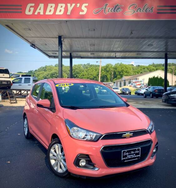 2018 Chevrolet Spark for sale at GABBY'S AUTO SALES in Valparaiso IN
