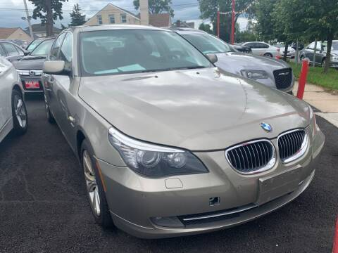 2010 BMW 5 Series for sale at Park Avenue Auto Lot Inc in Linden NJ
