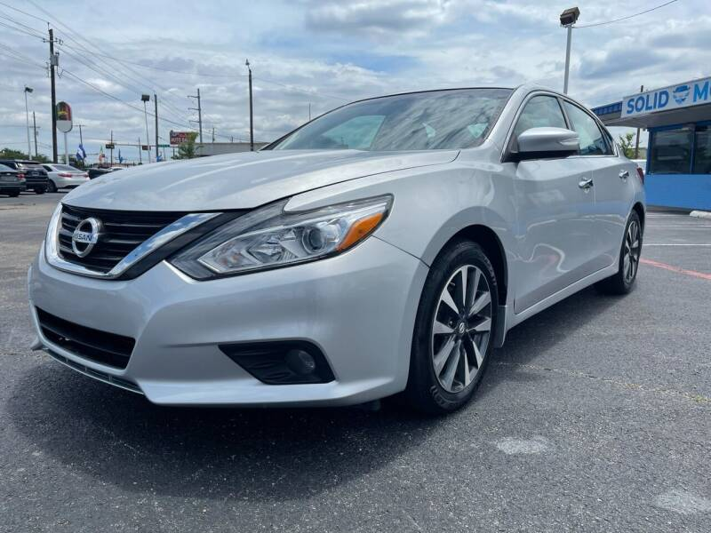 2016 Nissan Altima for sale at SOLID MOTORS LLC in Garland TX