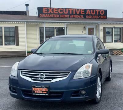 2011 Nissan Altima for sale at Executive Auto in Winchester VA