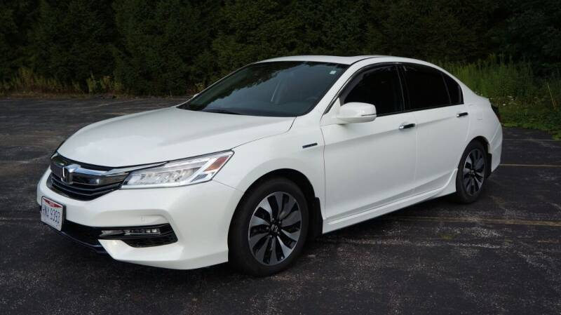 2017 Honda Accord Hybrid for sale at Grand Financial Inc in Solon OH