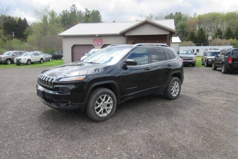 2014 Jeep Cherokee for sale at Clearwater Motor Car in Jamestown NY