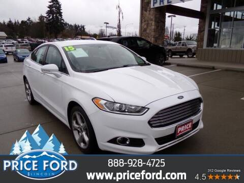 2015 Ford Fusion for sale at Price Ford Lincoln in Port Angeles WA