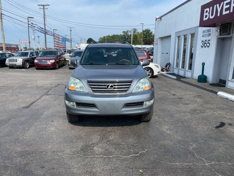 2007 Lexus GX 470 for sale at Buyers Choice Auto Sales in Bedford OH
