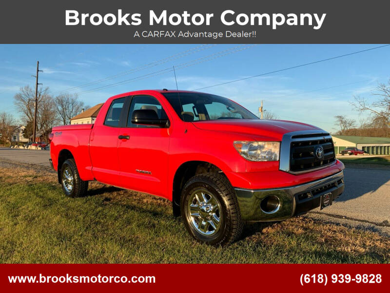 2012 Toyota Tundra for sale at Brooks Motor Company in Columbia IL