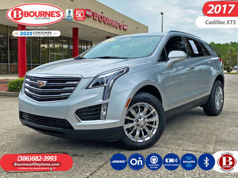 2017 Cadillac XT5 for sale at Bourne's Auto Center in Daytona Beach FL