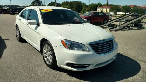 2013 Chrysler 200 for sale at Kelly & Kelly Supermarket of Cars in Fayetteville NC