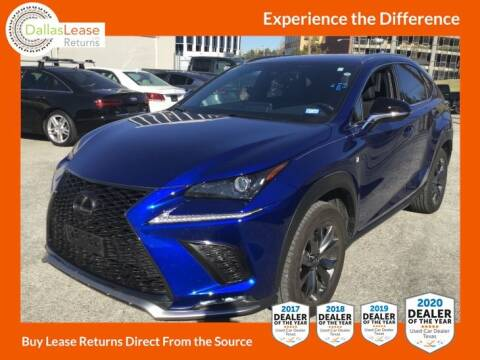 2020 Lexus NX 300 for sale at Dallas Auto Finance in Dallas TX